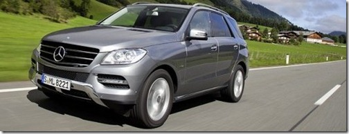 Mercedes-Benz ML 250 CDI Review Specifications