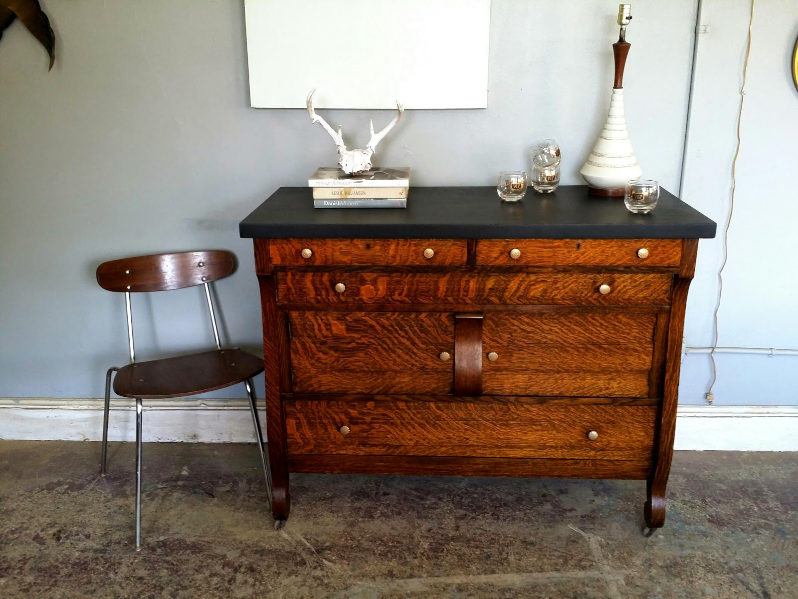 This Would Make An Awesome Bar Buffet Media Console Changing Table Etc. The  Dimensions Are 48w 22d 38.5h. $280. Vintageground@gmail.com