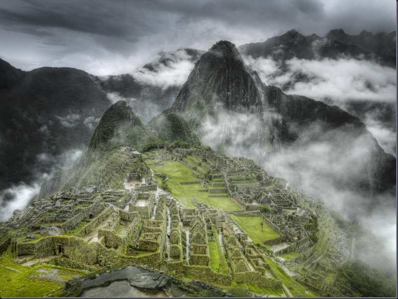 Best of 2009 Machu Picchu