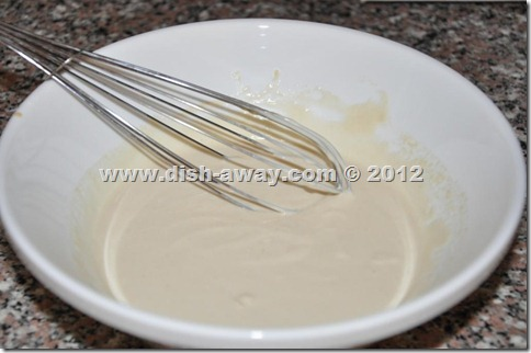 Thick Tahini Sauce Recipe by www.dish-away.com