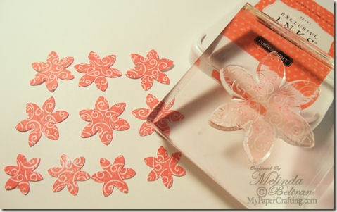cricut artiste ctmh stamp sunset ink flowers 475h