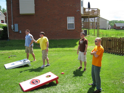 More corn hole competition.