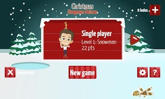 Screenshot of Christmas Hangman Deluxe