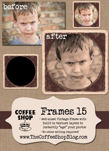 CoffeeShop Frames 15 ad