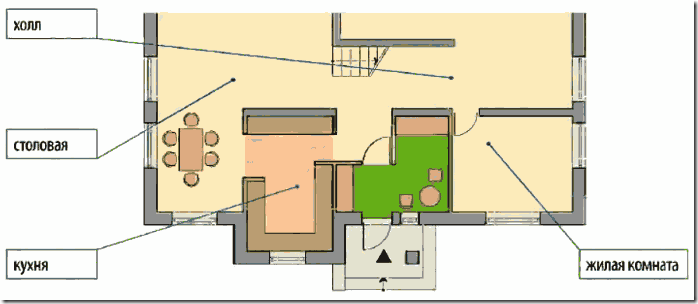 Как сделать тамбур в доме фото