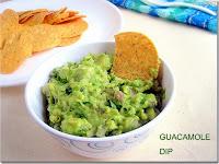 Guacamole Dip Recipe - Mexican Avocado dip