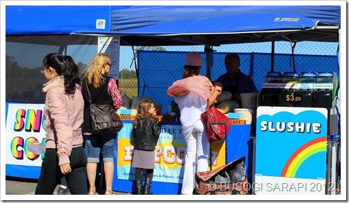 SLUSHIES & POPCORN STALL, ROCKLEA SUNDAY DISCOVERY MARKET© BUSOG! SARAP! 2012
