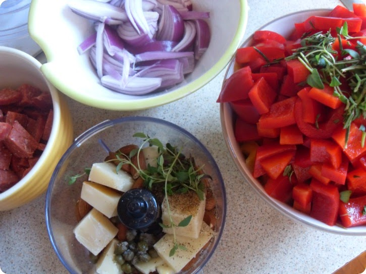 Forberedelser til mad