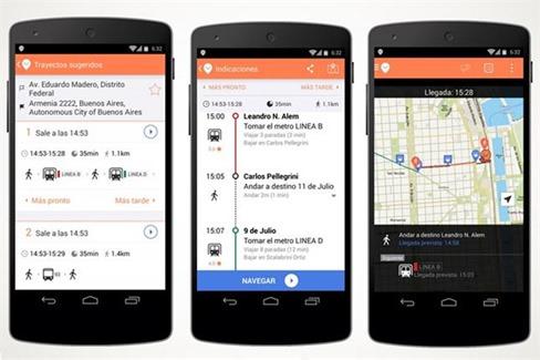 Descarga Moovit para iOS y Android