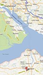 East Cowes to Southampton