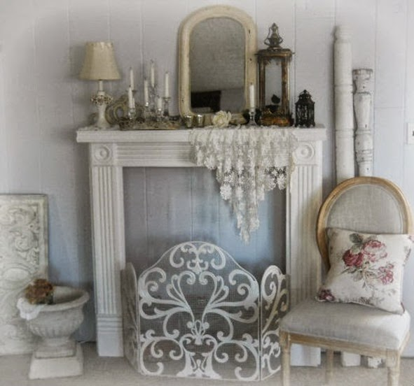 shabby and charme una casa romantica e shabby chic. Black Bedroom Furniture Sets. Home Design Ideas