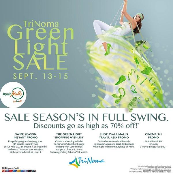 EDnything_Trinoma Green Light Sale 02