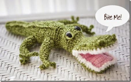 Crochet Crocodile Suarez