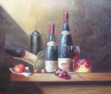 vinho decoupage