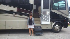 sharon at motorhome