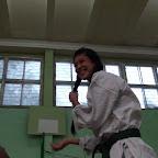Тренировка под руководством гостьи из Японии.