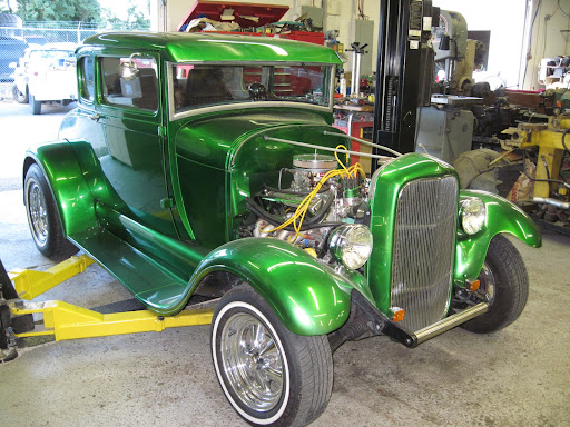 Jim Paul 29 Ford Coupe