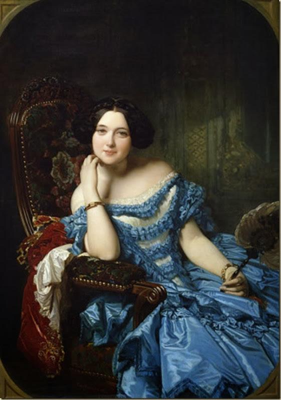 Ingres, Amalia de Llano y Dotres, comtesse de Vilches