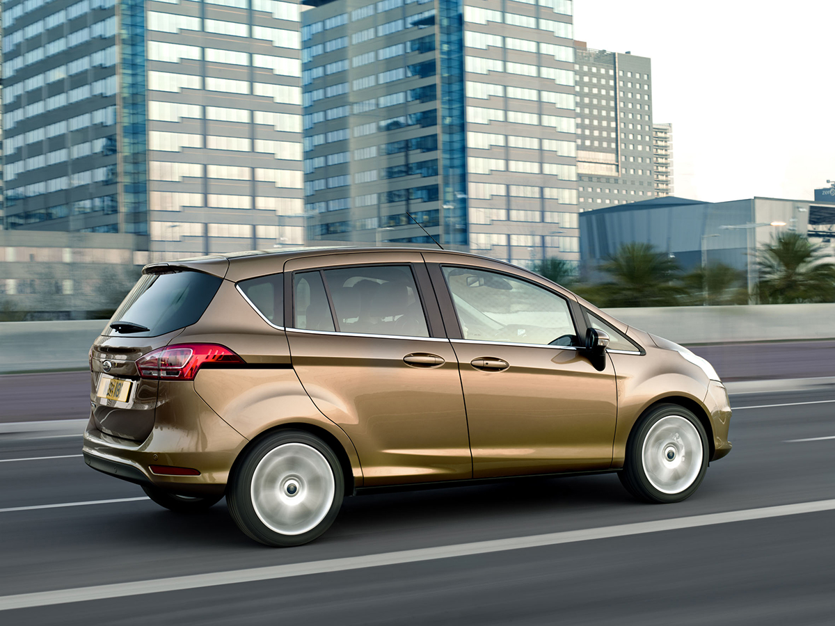 Yeni Ford B-MAX, Türkiye'nin ve Avrupa'nın Sınıfında En Çok