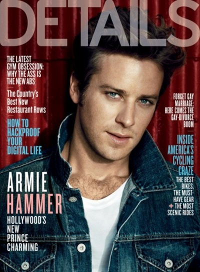 Armie Hammer by Norman Jean Roy for Details October 2011.  Styled by Paul Stura | www.Details.com