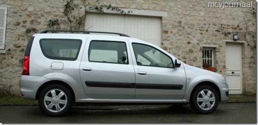 Dacia Logan MCV verkopen 0711