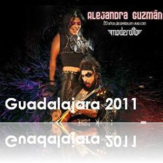 aleguzman y moderatto en guadalajara 2011