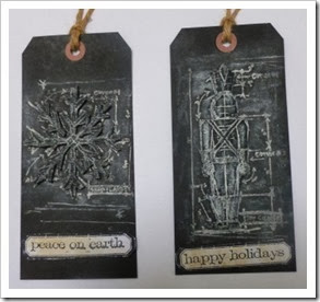 Tim Holtz Christmas Tags