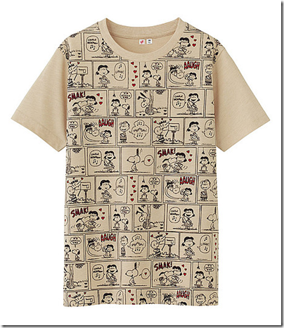 Uniqlo X Snoopy Tee - Kids 09