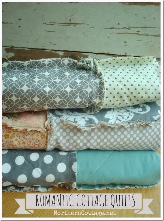 {Northern Cottage} romantic cottage quilts