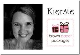 Kierste Brown Paper Packages