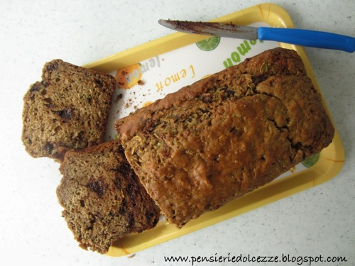 Zucchini Chocolate Bread 4