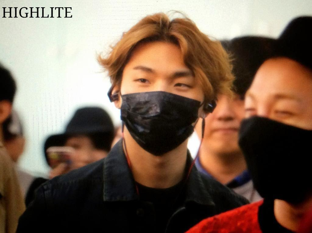 Big Bang - Incheon Airport - 19oct2014 - Dae Sung - Fansite - High Lite - 07.jpg