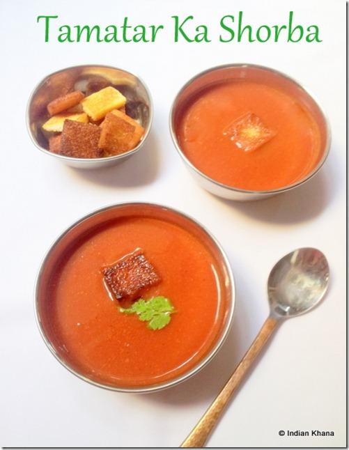 Tomato soup tamatar ka shoba recipe2