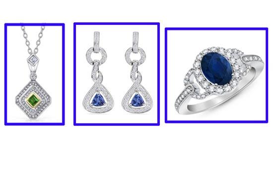 Gemstone Designer Jewerlry Gifts