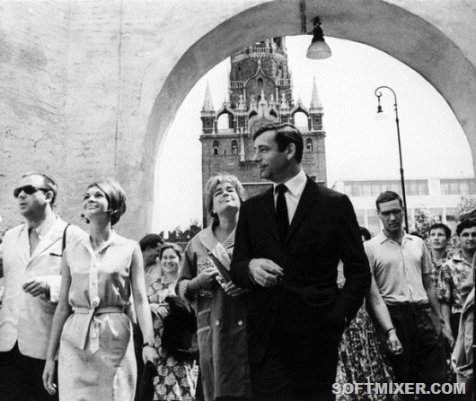 00/00/0000. Yves Montand's file pictures