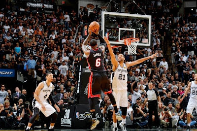 lebron james nba 140615 mia at sas 16 game 5 San Antonio Spurs Are Champions Again After Defeating Miami Heat in 2014 NBA Finals
