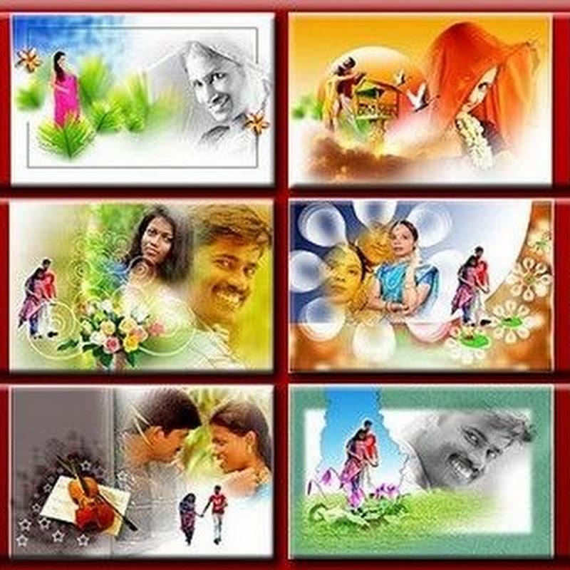 Indian Wedding Album Templates Designs PSD File Part-08 Free Download