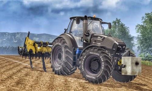 Farming simulator 2015 - Deutz Fahr 7250TTV Warrior v 1.0
