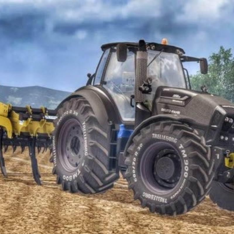 Farming simulator 2015 - Deutz Fahr 7250TTV Warrior v 1.0