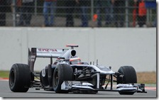 Rubens Barrichello al volante della Williams