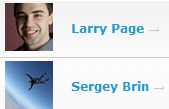 follow larry and sergey