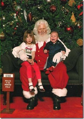 Santa2011-PhoebeandGriffin