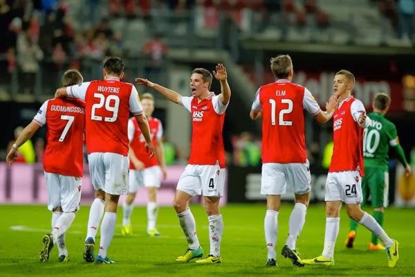 Viktor+Elm+AZ+Alkmaar+v+Maccabi+Haifa+FC+UEFA+LcaCYHraLikx