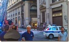 Crollo in Galleria Umberto I