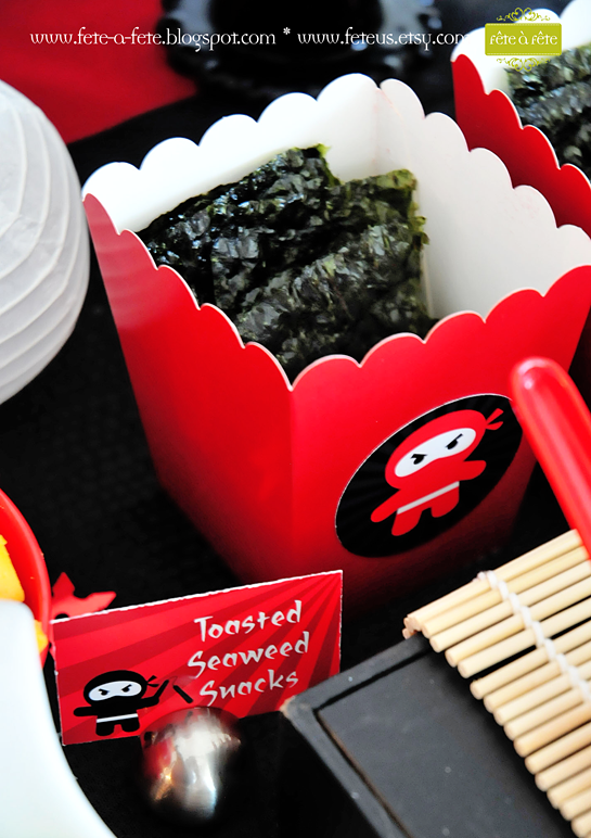 seaweed-snacks---Ninja-Party-by-Fete