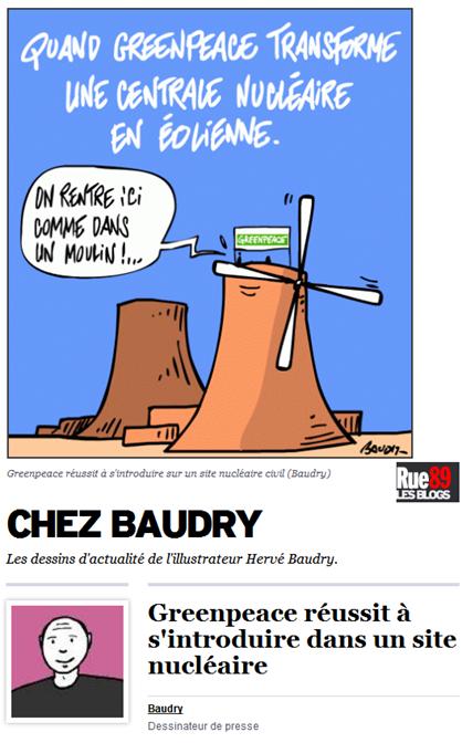 molin de centrala nucleara francesa