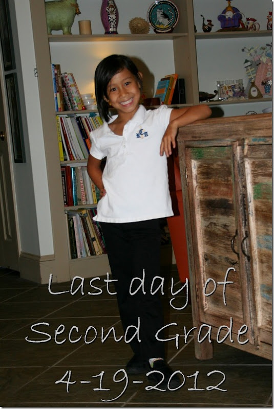 Last day 2nd grade