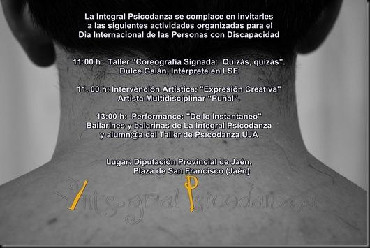 Invitacion Dia Discapacidad 2012 La Integral