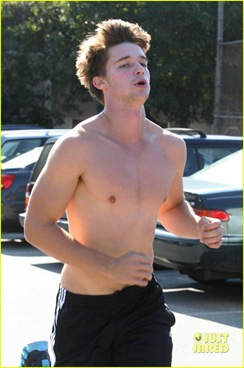 patrick-schwarzenegger-shirtless-run-23