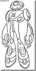 Ultimate Echo Desenhos para colorir e pintar Ben 10 Supremacia Alienígena eco supremo